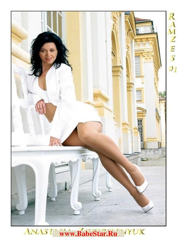 Частные эротические фотографии Анастасии Заворотнюк. Звездная
