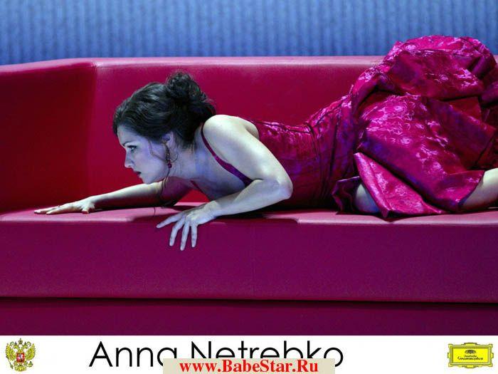 Анна Нетребко полностью и совсем голая 2013-2014, голые груди и